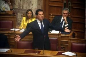 Άδωνης Γεωργιάδης βουλή