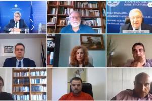 Διαδικτυακή συνάντηση αντιπρυτάνεις, κοσμήτορες και προέδρους των τμημάτωνΦιλοσοφικών Σχολών καιΣχολών Ανθρωπιστικών Επιστημών