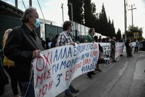 Εσπερινά Λύκεια: Διαμαρτυρία έξω από το υπουργείο Παιδείας