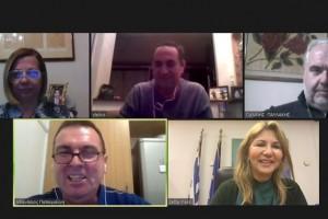 Διαδικτυακή συνάντηση υφ. Παιδείας με τους ιδιοκτήτες Κυλικείων