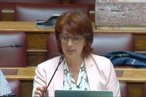 Τι είπε στη Βουλή η προεδρεύουσατης Συνόδου Πρυτάνεων
