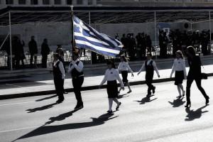 Με ιδιαίτερη λαμπρότηταη μαθητική παρέλαση στην Αθήνα