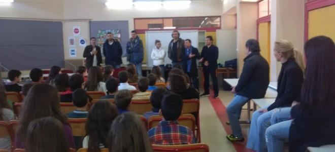 7fe796f816 Εκδήλωση στο πλαίσιο του Κοινωνικού Σχολείου στο 2ο Δημοτικό Σχολείο Γλυκών  Νερών